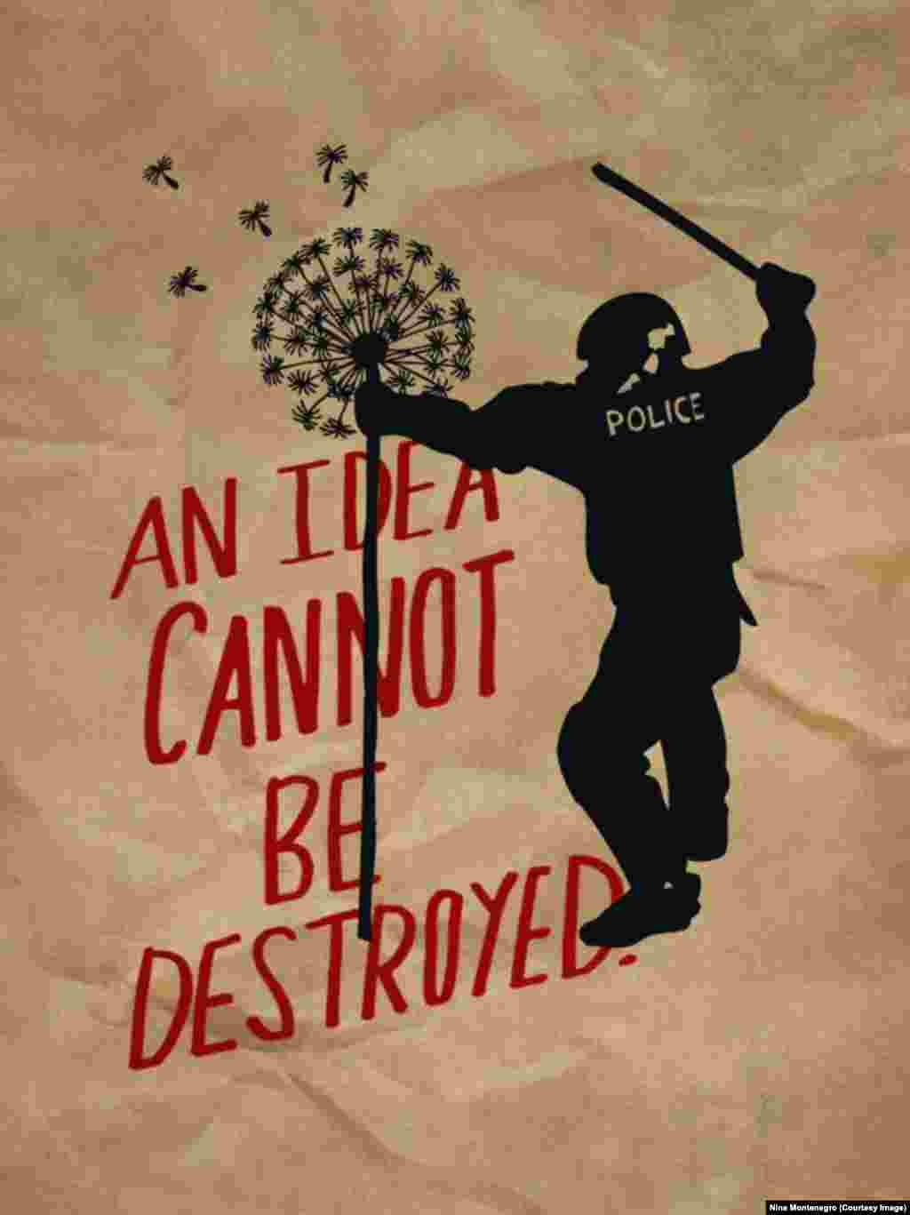 """An Idea Cannot Be Destroyed,"" 2011"