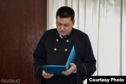 Судья Думан Серікбаев. Павлодар, 11 мамыр 2016 жыл.