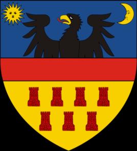 Însemnul heraldic al Transilvaniei între 1659 - 1867.