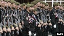 Кадыровский спецназ