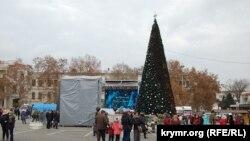 Открытие новогодней елки в Севастополе 22 декабря 2018 года