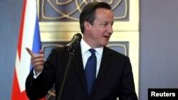 دیوید کامرون، نخست وزیر بریتانیا