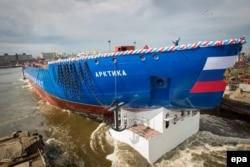 "Ledolomac ""Arktika"" bi trebalo da uđe u službu na leto 2020."
