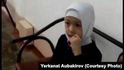 Халида Әубәкірова, Павлодардағы № 29 мектептің 2-сынып оқушысы. 12 наурыз 2018 жыл.