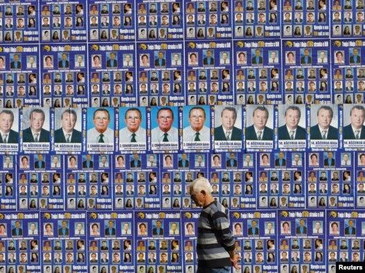 Predizborni plakati u Sarajevu, septembar 2010
