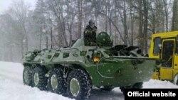 Київ, сніг, понеділок