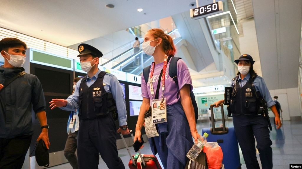 Христина Тимановська залишається в аеропорту Токіо під охороною поліції