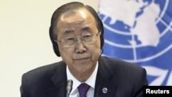 Генеральный секретарь ООН Пан Ги Мун.