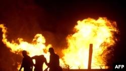 Од нападот на гасоводот на 12 јули