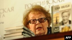 Вдова двойного агента Кима Филби на презентации книги о ее муже. Москва, декабрь 2011 года