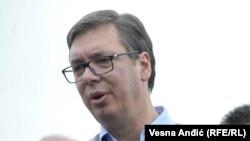 Претседателот на Србија Александар Вучиќ