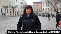 Lviv resident Tetiana Turchina