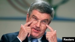 International Olympic Committee chief Thomas Bach