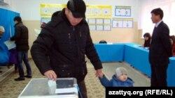 Выборы в Казахстане, Жанаозен, 15 января 2012.
