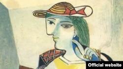 Пабло Пикассо. Сидящая женщина. Мария Тереза Вальтер. 1937