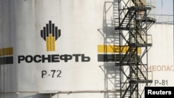 Russia -- The Rosneft Achinsk oil refinery, one of the biggest Siberian fuel suppliers, near the town of Achinsk, 09Sep2011