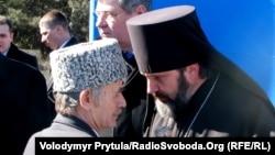 Владика Климент і Мустафа Джемілєв, 2011 р.