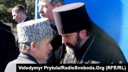 Владыка Климент и Мустафа Джемилеев, 2011 г.