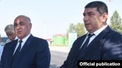 Nizaməddin Quliyev (sol) və Ramiz Tatarov, arxiv foto