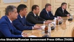 Ղազախստան - Եվրասիական միջկառավարական խորհրդի նիստի մասնակիցները, Աստանա, 14-ը օգոստոսի, 2017թ․