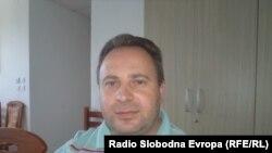 Науме Јовановски, претседател на Општинскиот комитет на СДСМ во Охрид.