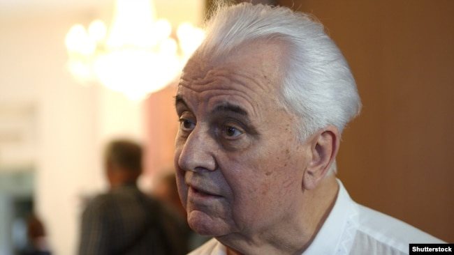 Леонид Кравчук, президент Украины в 1991-1994 годах