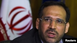 Embattled Iranian Finance Minister Shamseddin Hossein