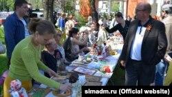 Геннадій Бахарев на відкритті туристичного сезону «Катерининська миля»