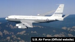 A U.S. Air Force Boeing OC-135B