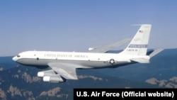 Американский самолёт, участвовавший в полётах в рамках договора