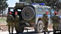 Руски војници во Сирија.