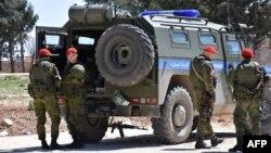 Սիրիա - Ռուսաստանի ռազմական ոստիկանության զինծառայողները Սիրիայում, արխիվ