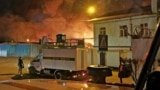 Пожар в исправительной колонии в Ангарске