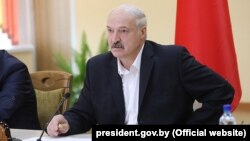 President Alyaksandr Lukashenka (file photo)
