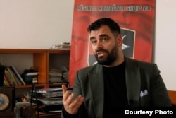 """Ragmi Mustafi, president of the Serbian-based Albanian National Council: """"There are dangerous statements coming from Belgrade in which [ethnic] Albanians are always enemies of the state."""""""