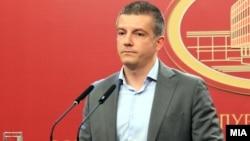 Министерот за информатичко општество и администрација Дамјан Манчевски