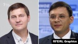 Згідно зі звітом партії «Наші», Андрій Одарченко (зліва) зробив два грошові внески на рахунки партії Євгенія Мураєва