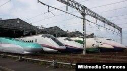 Shinkansen vozovi 2009, ilustracija