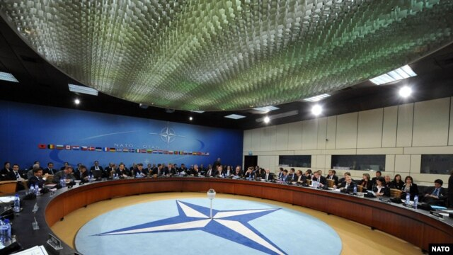 NATO foreign ministers are meeting in Brussels today