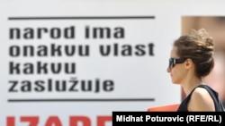 Bilbord u BiH uoči opštih izbora 2010. godine
