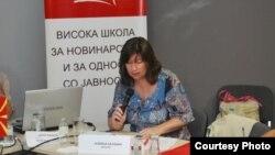 Новинарката Љубица Балабан.