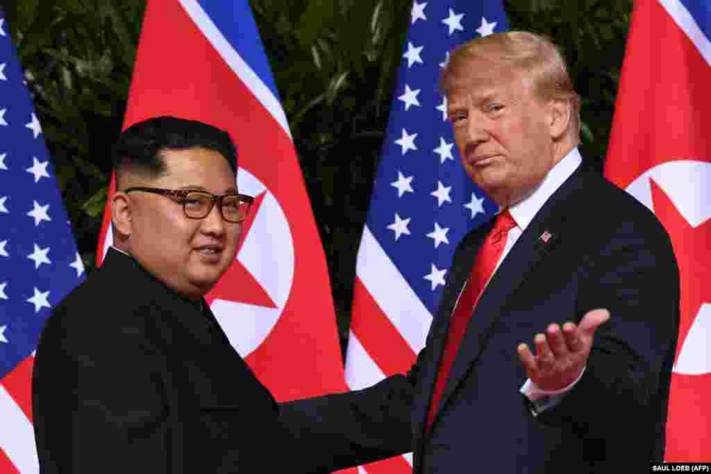 Обоюдная симпатия Дональда Трампа и Ким Чен Ына.