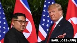 د امریکا او شمالي کوریا مشران