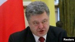 Ուկրաինայի նախագահ Պետրո Պորոշենկո, մարտ, 2015թ․