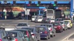 Kolone automobila na granici BiH i Hrvatske