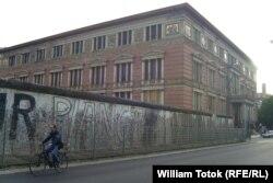 Fragment conservat din Zidul Berlinului