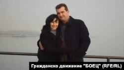 Георги Георгиев и съпругата му Мариела