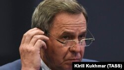 Vladimir Gorodetsky është lideri i rajonit Novosibrisk Oblast, i shkarkuar këtë javë nga Vladimir Putin.