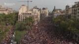 Catalans Hold General Strike To Protest Referendum Crackdown