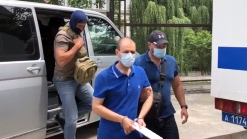 Another Man Arrested In Crimea Accused Of Spying For Ukraine